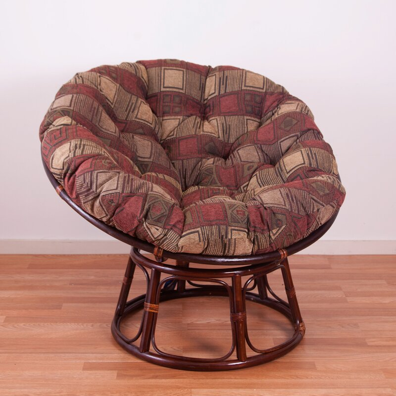Genial Chenille Papasan Chair Cushion