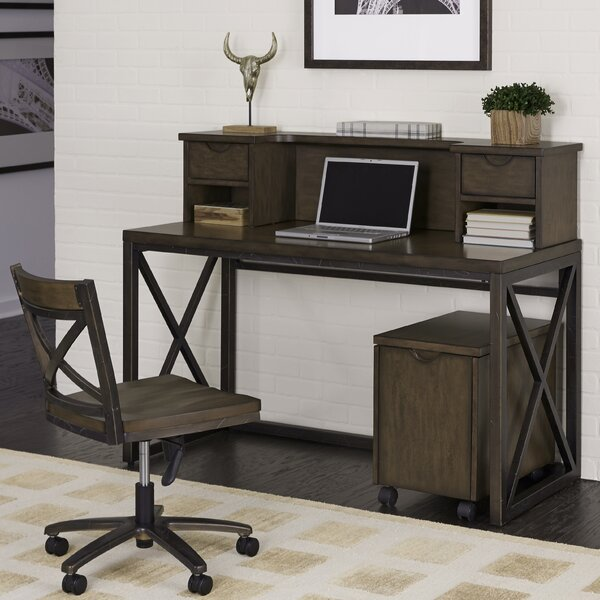 Witham 4 Piece Desk Office Suite by Williston Forge