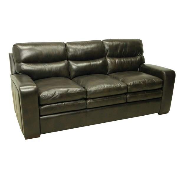 Leather Sofa by Wildon Home®