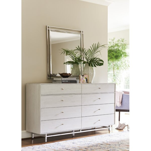 Paradox 8 Drawer Double Dresser with Mirror by Universal Furniture