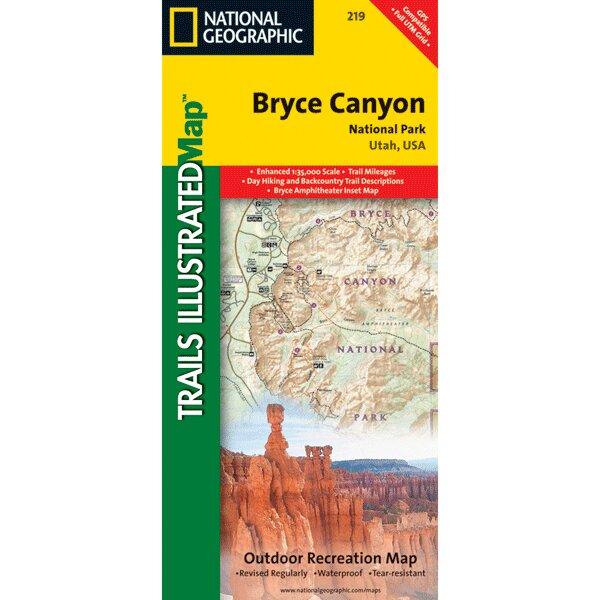 Universal Map Bryce Canyon National Park Utah Map | Wayfair.ca