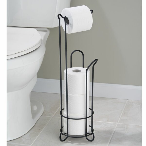 Espana Free Standing Toilet Paper Holder by Rebrilliant