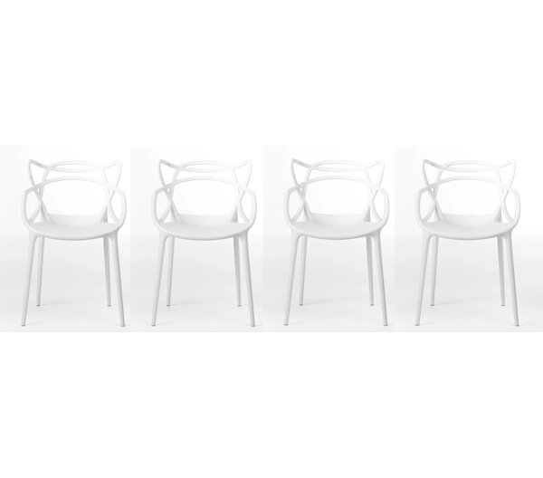Harber Dining Chair (Set of 4) by Wrought Studio