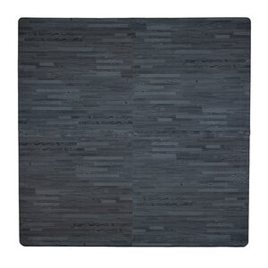 4 Piece Wood Grain Playmat
