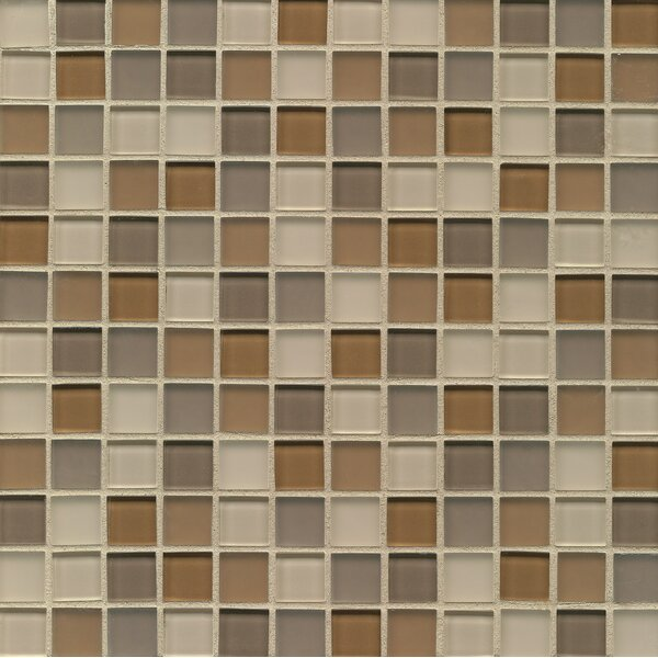 Harmony 0.94 x 0.94 Glass Mosaic Tile in Synthesis by Grayson Martin