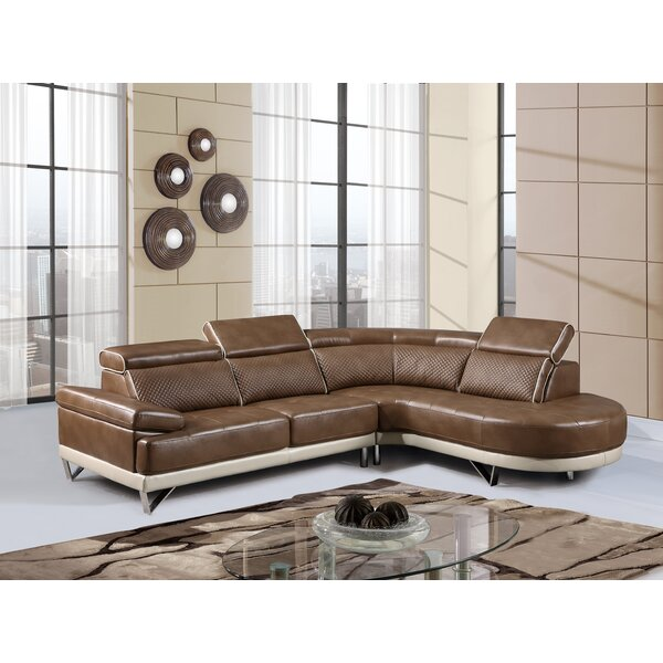 Brissette Sectional by Wade Logan