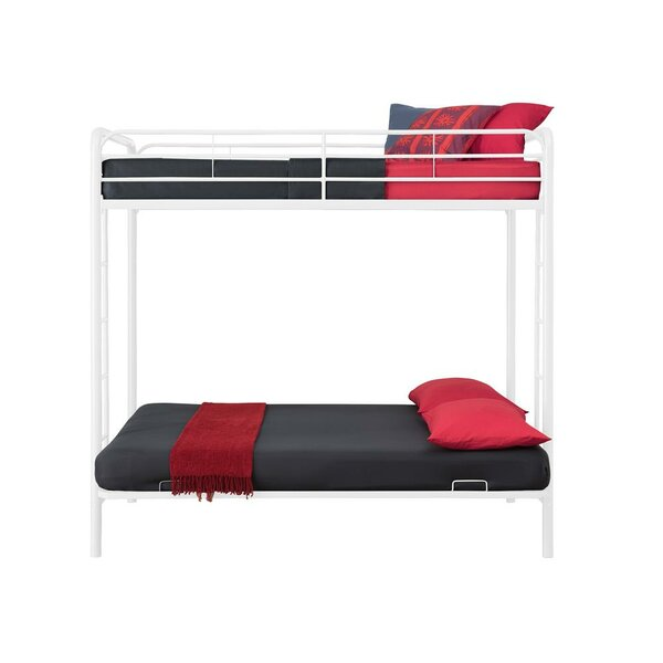 Sanders Twin Over Full Futon Bunk Bed by Viv + Rae