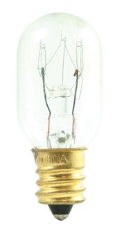 Tubular 15W Frosted Incandescent Amusement and Appliance Light Bulb (Set of 32) by Bulbrite Industries