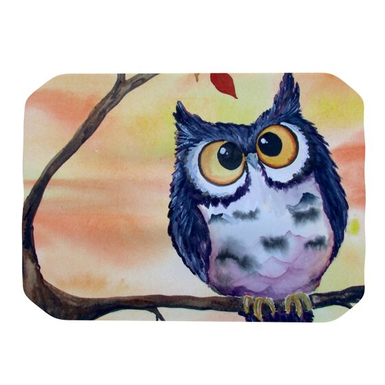 Hootie Cutie Placemat by KESS InHouse