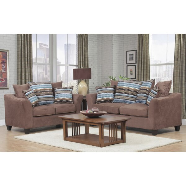 Nassau 2 Piece Living Room Set by Winston Porter
