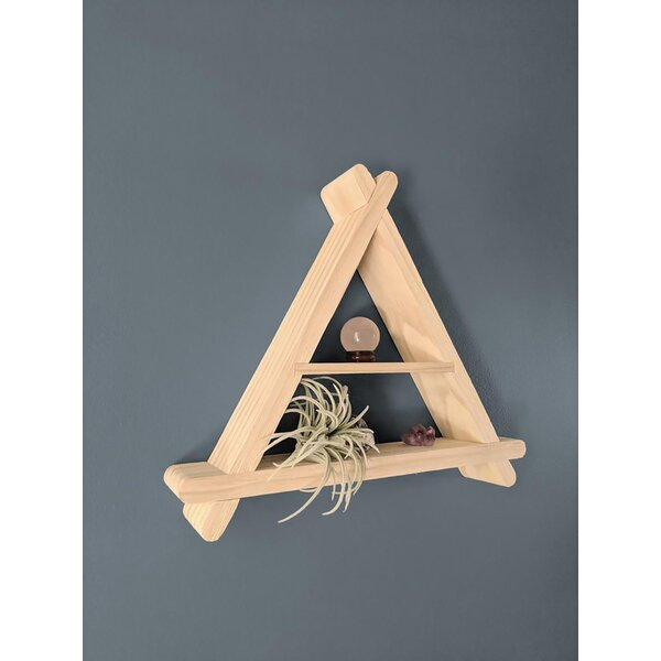 Richville Triangle Wall Shelf by Foundry Select