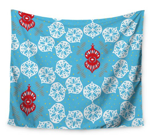 Frosted by Miranda Mol Wall Tapestry by East Urban Home