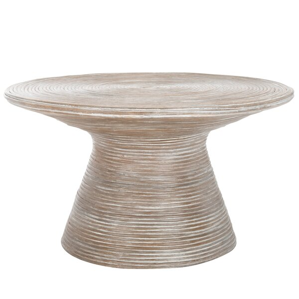Gamay Pedestal Coffee Table By World Menagerie