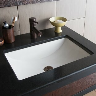Cabrillo Stone Rectangular Undermount Bathroom Sink By Native Trails, Inc.