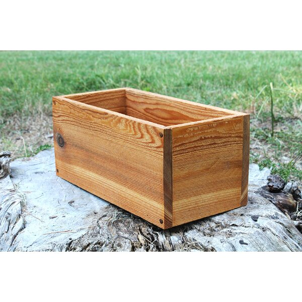 Bee New Cedar Planters Box by Millwood Pines
