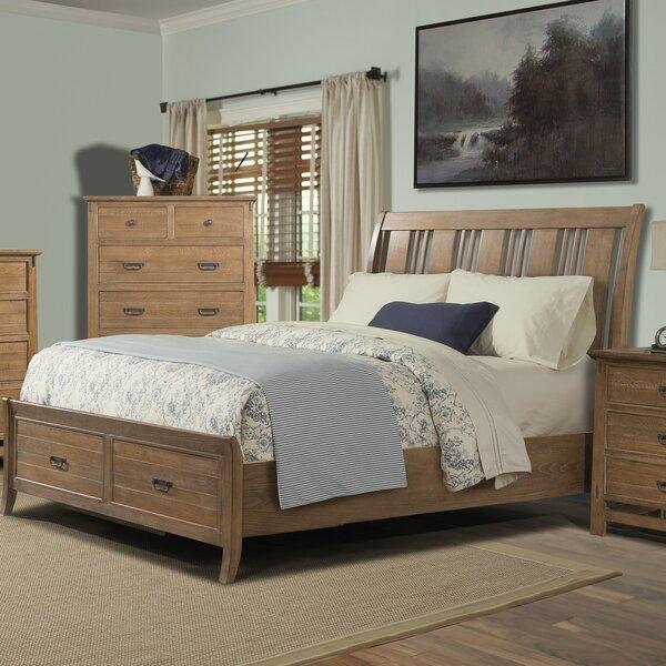 Huber Storage Sleigh Bed by Loon Peak