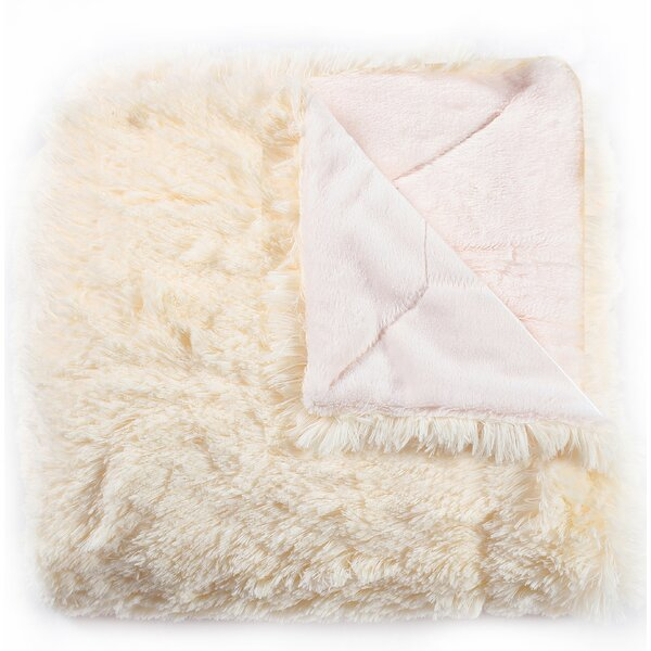 Violetta Faux Fur Throw by House of Hampton