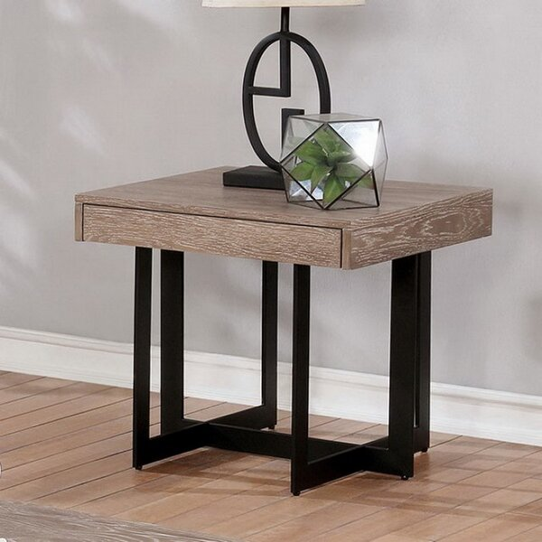 Reiner End Table by Gracie Oaks Gracie Oaks