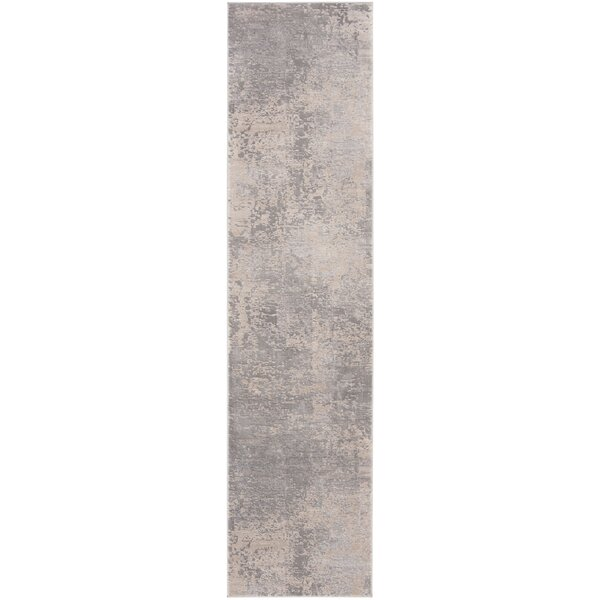 Mainor Gray/Cream Area Rug