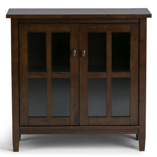 Warm Shaker 2 Door Accent Cabinet by Simpli Home