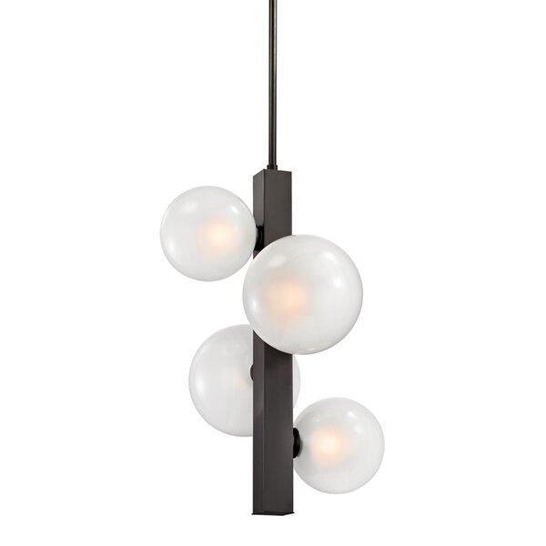 Merced 4-Light Sputnik Chandelier by Corrigan Studio