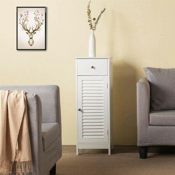 Wynnedale 14.57 W x 35.43 H x 11.81 D Free-Standing Bathroom Cabinet