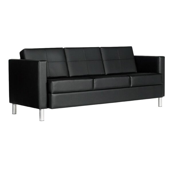 Citi Leather Sofa by Global Total Office Global Total Office