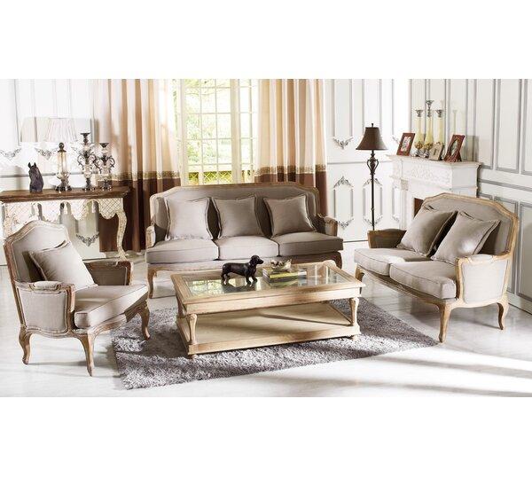Bem 3 Piece Living Room Set by One Allium Way
