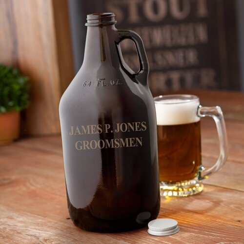 Personalized Gift Growler by JDS Personalized Gifts