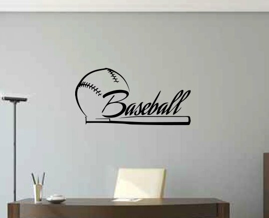 Ruthie Baseball Wall Decal by Zoomie Kids