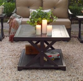 Bungalow Porcelain Coffee Table by Paula Deen Home