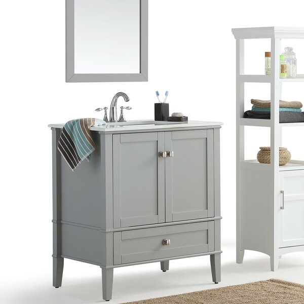 Chelsea 31 Single Bathroom Vanity Set by Simpli Home