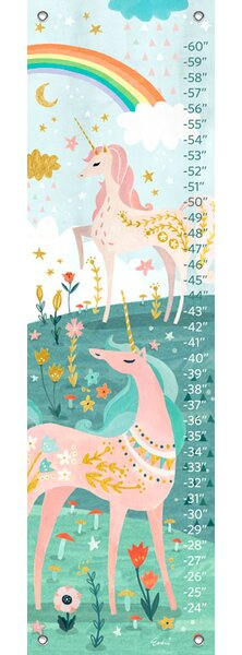 Jeannie Magical Unicorn Growth Chart by Harriet Bee