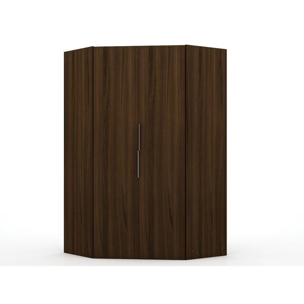 Delhi Corner Wardrobe Armoire by Latitude Run