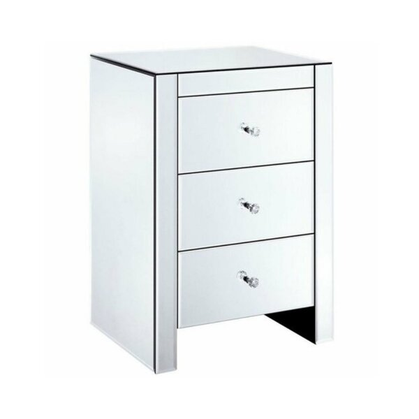 Carrasco 3 Drawer Nightstand by Rosdorf Park