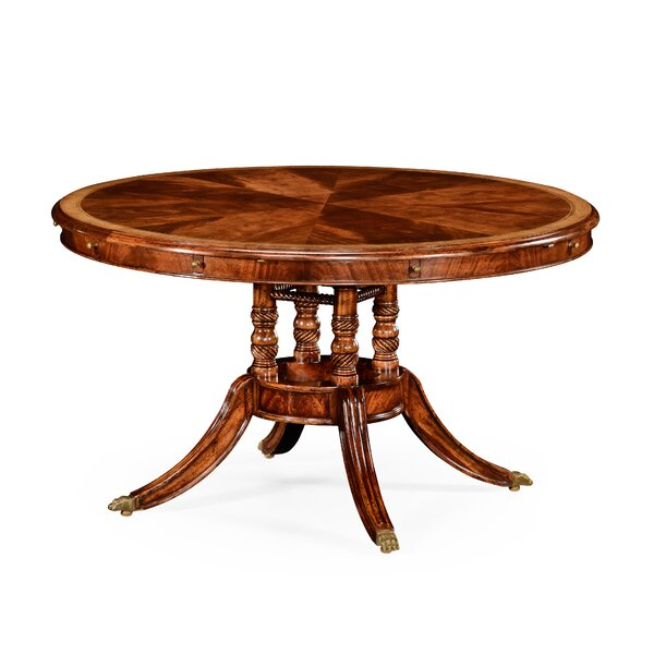 Extendable Dining Table by Jonathan Charles Fine Furniture Jonathan Charles Fine Furniture