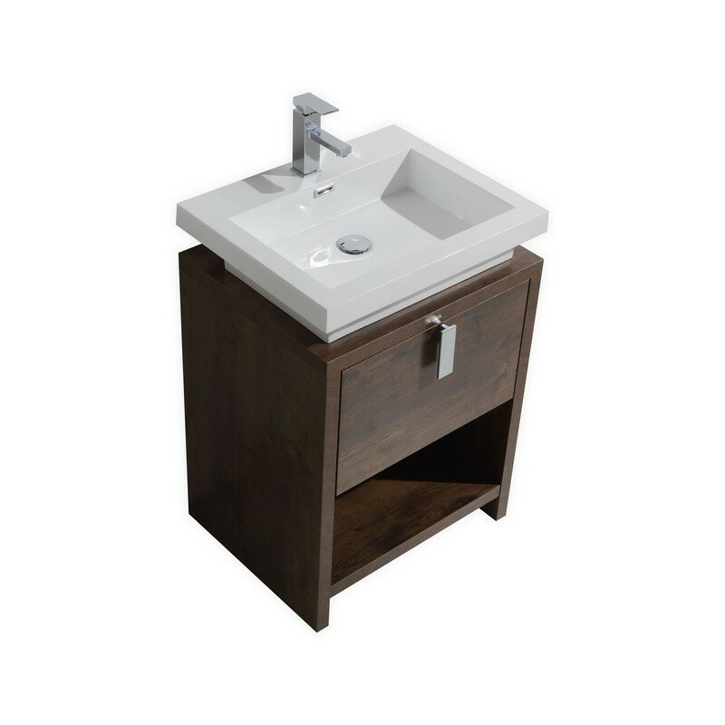 Mcloughlin 23 5 Single Modern Bathroom Vanity Set Reviews Allmodern