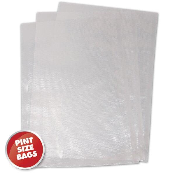 1 Pint Vacuum Sealer Bag (Set of 100) by Weston