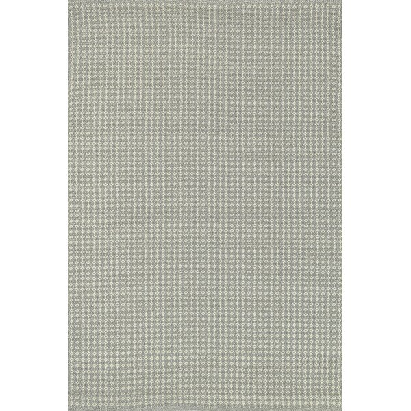 Kirchoff Hand-Woven Pewter Indoor/Outdoor Area Rug by Charlton Home
