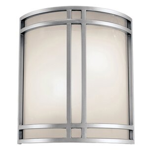 Find for Malvern 2-Light LED Outdoor Sconce By Charlton Home