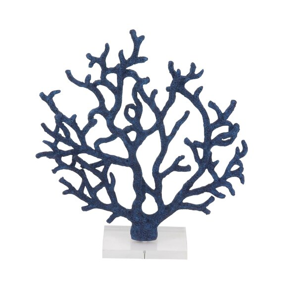 Dunlap Coastal Branched Coral Figurine by Rosecliff Heights