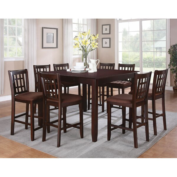 Lovins 9 Piece Pub Table Set by Red Barrel Studio