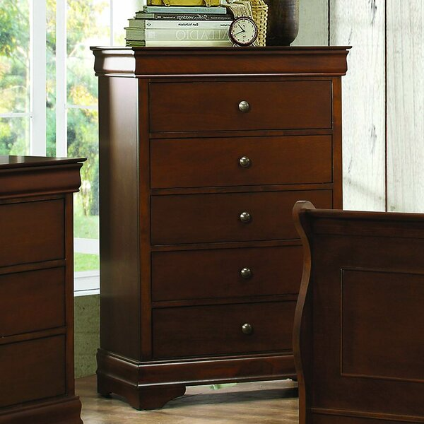 Alivia 5 Drawer Chest by Alcott Hill