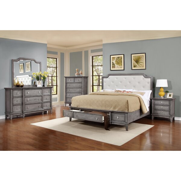 Palmisano Platform Configurable Bedroom Set by One Allium Way