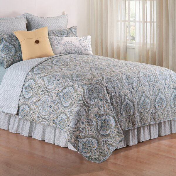 Amherst Reversible Quilt Set by C&F Home