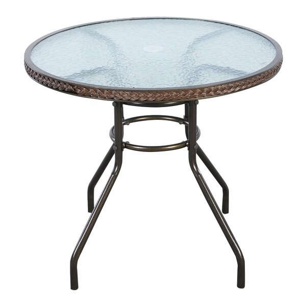 Blanchet Patio Round Bistro Table by Red Barrel Studio