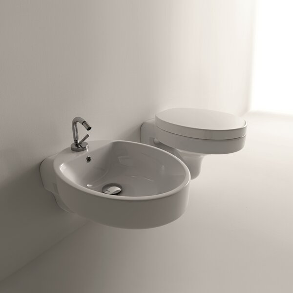 Cento Dual Flush Toilet Bowl by WS Bath Collections