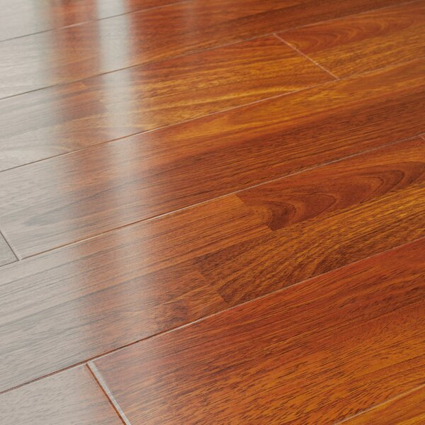 5 x 48 x 12mm Pine Laminate Flooring in Brazilian Cherry by Kronoswiss