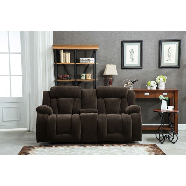 New Collection Adlingt Reclining Loveseat by Winston Porter by Winston Porter