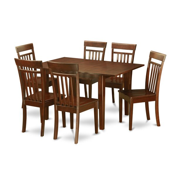 Cartley 7 Piece Extendable Dining Set by Red Barrel Studio